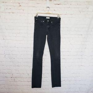 Helmut Lang black stretch Skinny Jeans